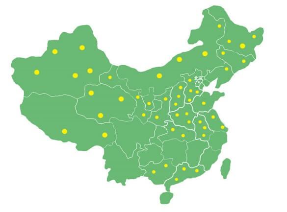 美迪销售已遍布全国上百个地级市